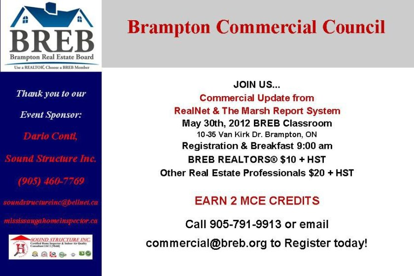 BCC Spring Speaker Event May 30th