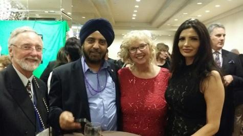 Ed Hazell- BREB Director, Harinder Sawhney- BREB Director, Pat Verge- OREA Pas President, Mona Mavi- BREB Director