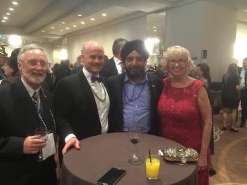 Ed Hazell-BREB Director, Ray Ferris-OREA President, Harinder Sawhney-BREB Director, Pat Verge-OREA Past President
