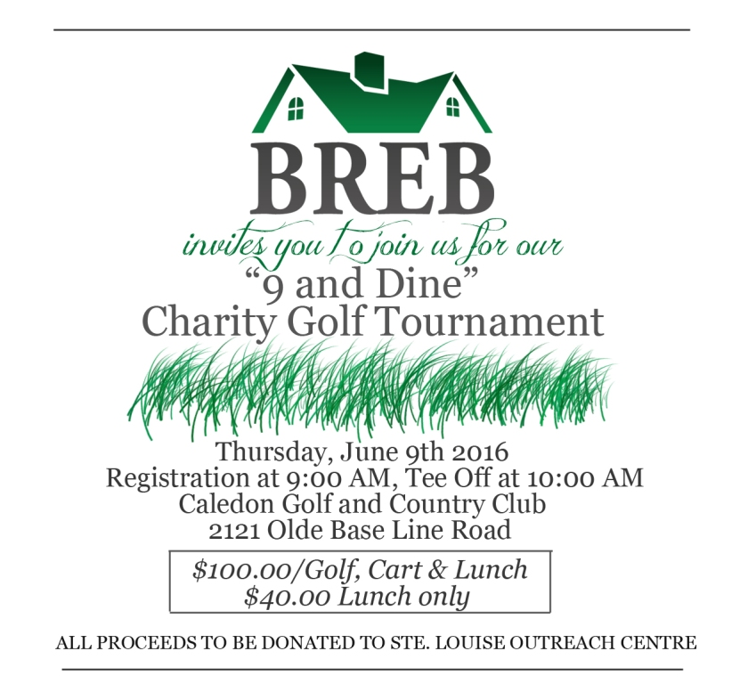 BREB GOLF GENERAL INVITE