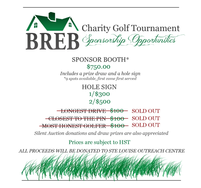 BREB GOLF SOLD OUT