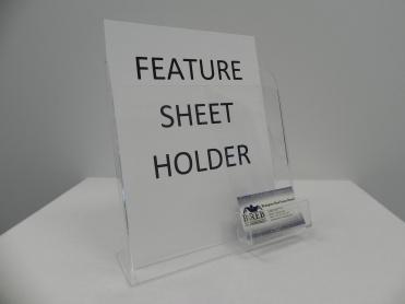 Feature Sheet Holder (Standard)