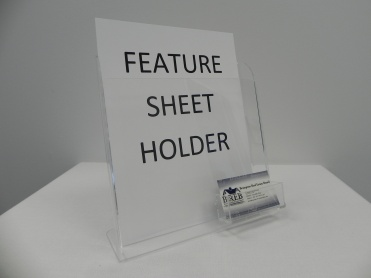 Feature Sheet Holder (Standard)