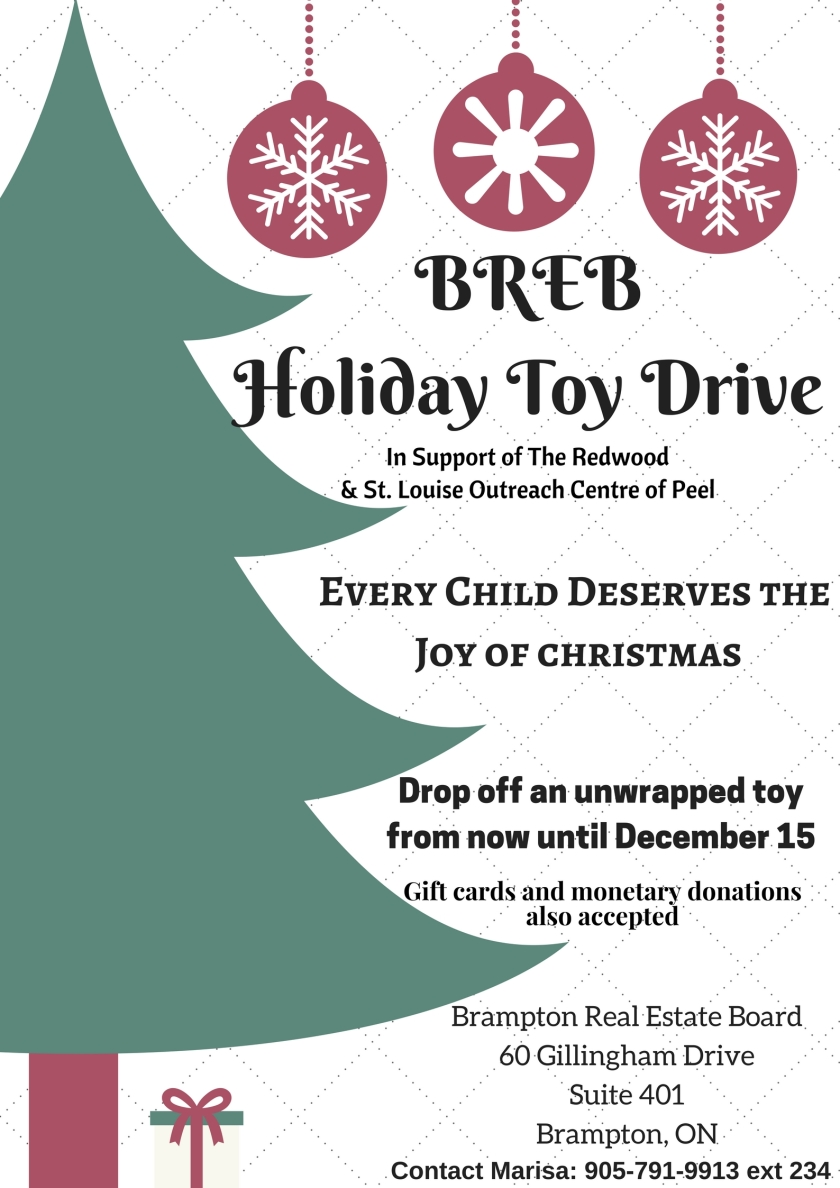 BREBHoliday Toy Drive
