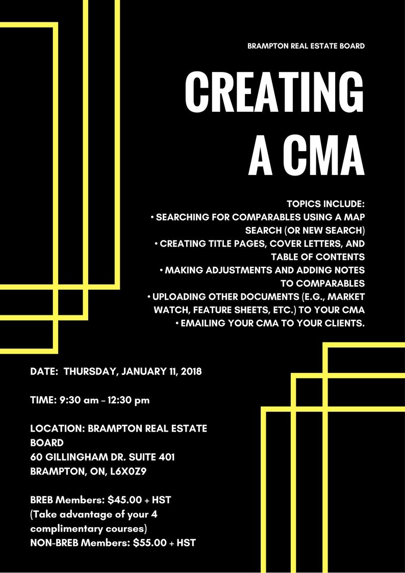 Creating A CMA